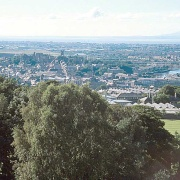 Lancaster skyline from Williamson Park
