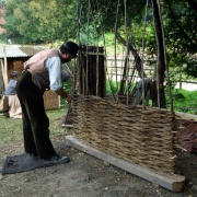 Weaving a Wattle Fence