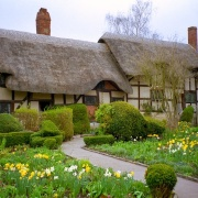 Anne Hathaway's Cottage, Stratford-on-Avon.