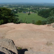 View from Stormy Point, Alderley Edge, Cheshire