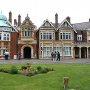 A picture of Bletchley Park