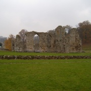 Easby Abbey near Richmond, North Yorkshire