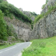 Road into Cheddar Gorge