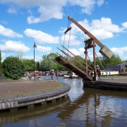 Opening up for birthing at Stoke on Trent, Trent and Mersey canal