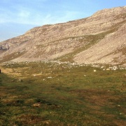 Limestone scenery above Settle, Yorkshire Dales