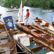 Swan Upping at Cookham, Berkshire