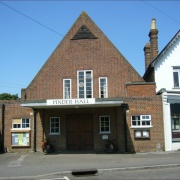 Cookham's Village Hall - The Pinder Hall - built in art deco style in the 1930s