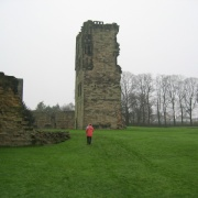 Ashby-de-la Zouch castle, Derbyshire. - November 2004