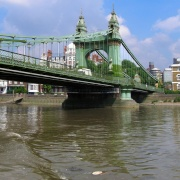 Hammersmith Bridge, Hammersmith, London