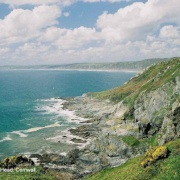 Looking towards Whitsands Bay from Rame Head, Cornwall