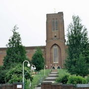 Guildford Cathedral. Guildford, Surrey