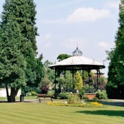 Spa Gardens in Ripon, North Yorkshire