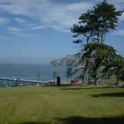 Llandudno `With Little Orme In Background'