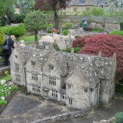 Model Village at Bourton-on-the-Water, Gloucestershire. The Cotswolds