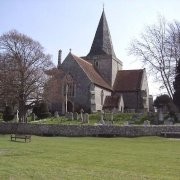 St. Andrews Church. Alfriston, East Sussex