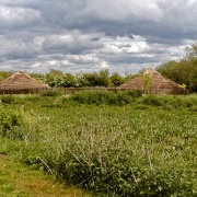 Flag Fen Bronze and Iron Age Centre at Whittlesey in Cambridgeshire