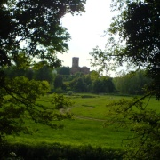 Wolverley Church, Wolverley, near Kidderminster (taken from the Canal)
