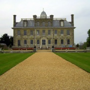 Kingston Lacy, Wimborne Minster, Dorset. The back facade.