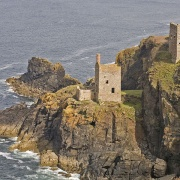 Botallack Tin Mines in Cornwall