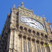 Big Ben--A better look at the amazing details of the face of the clock.  Fantastic!