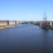 River Tees, Stockton-on-Tees, County Durham.