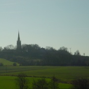 view from High Street,  Laughton-en-le-Morthen, South Yorkshire