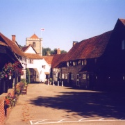 A picture of Dorchester Abbey
