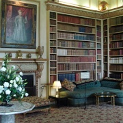 The Library,  Leeds Castle in Kent