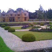 The gardens at Dillington House, Ilminster, Somerset