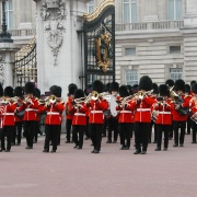 Changing of the guard in London