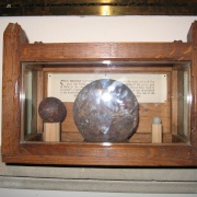 Cannon Ball at All Saints Church, Faringdon