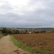 View of Faringdon from near the Folly