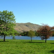 Ullswater at Glenridding.