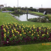 Memorial Pond, Cleethorpes, Lincolnshire