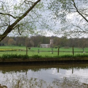Wistow, Leicestershire, from the Grand Union Canal