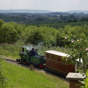 Evesham Light Railway at the Country Park