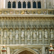 Westminster Abbey (detail)