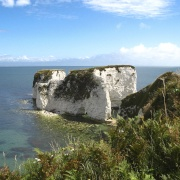 Old Harry's rocks near Studland