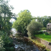 The village of Ingleton