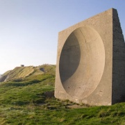 Sound Mirror on Abbots Cliff near Dover