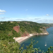 The sea front at Babbacombe