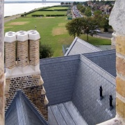 The roof, The Grange, Ramsgate