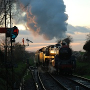 Late Afternoon at Ropley