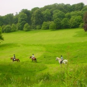 Riders at Ashton Court