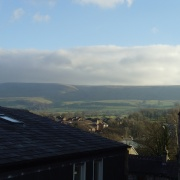 Pendle Hill, from my kitchen window
