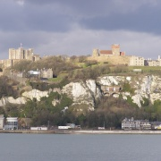 Dover Castle From The Prince Of Wales Pier.