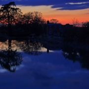 Sunset over the canal at Devizes