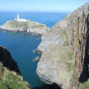 South Stack Lighthouse.