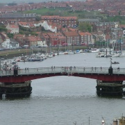 Whitby's Swingbridge.