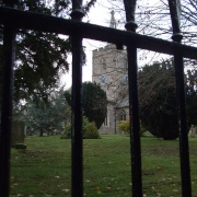 St Mary's Church, Chesham, Autumn
